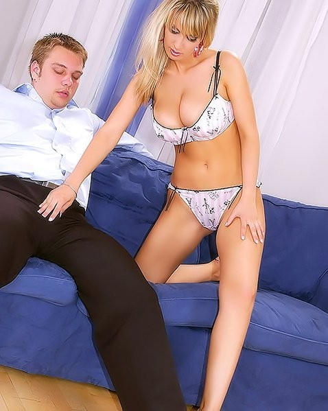 dildo with two knots – Domina