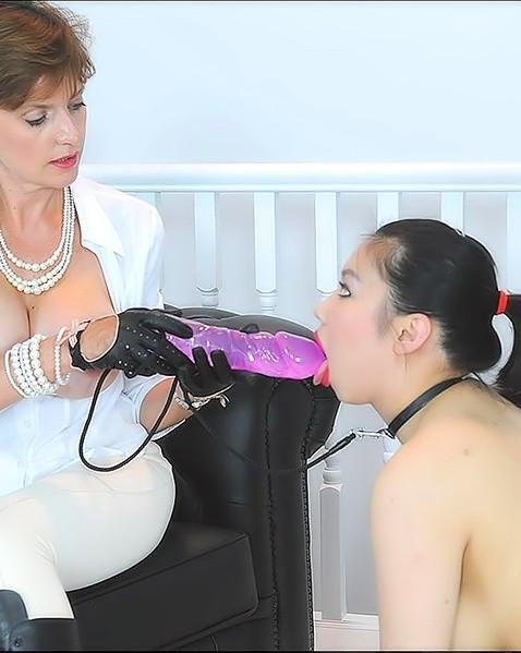 throat bulging blowjob and cum drinking – Porno
